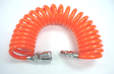 PU Coil tube with coupler - PU coil tube, Air Hose, Pneumatic tubing