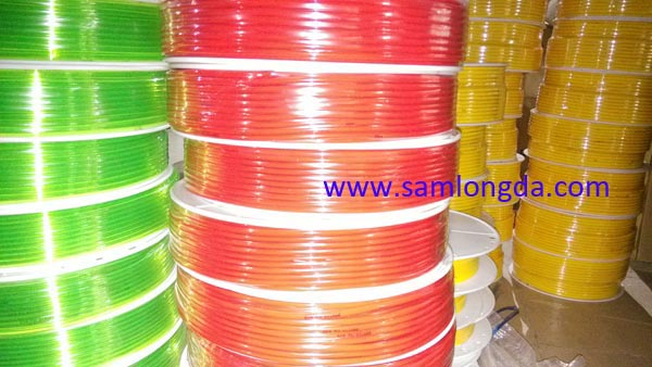 pneumatic tubing, air hoses, PU tube, Polyurethane tubes, Coil air hose - PU TUBE